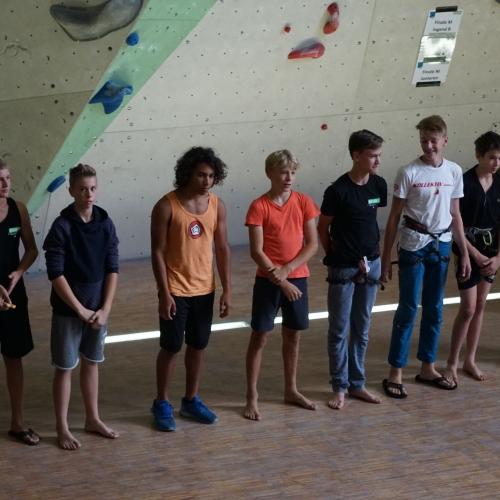 Finalteilnehmer Jugend B+C