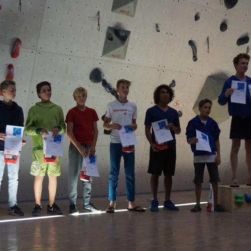 Siegerehrung Finale Jugend B+C