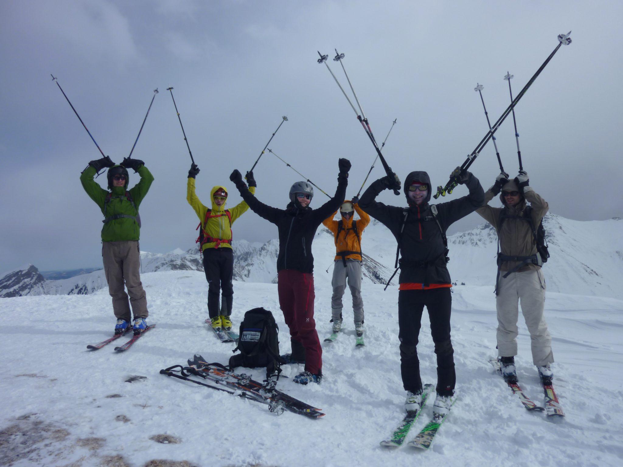 JL-Skitour 2017 im Diemtigtal
