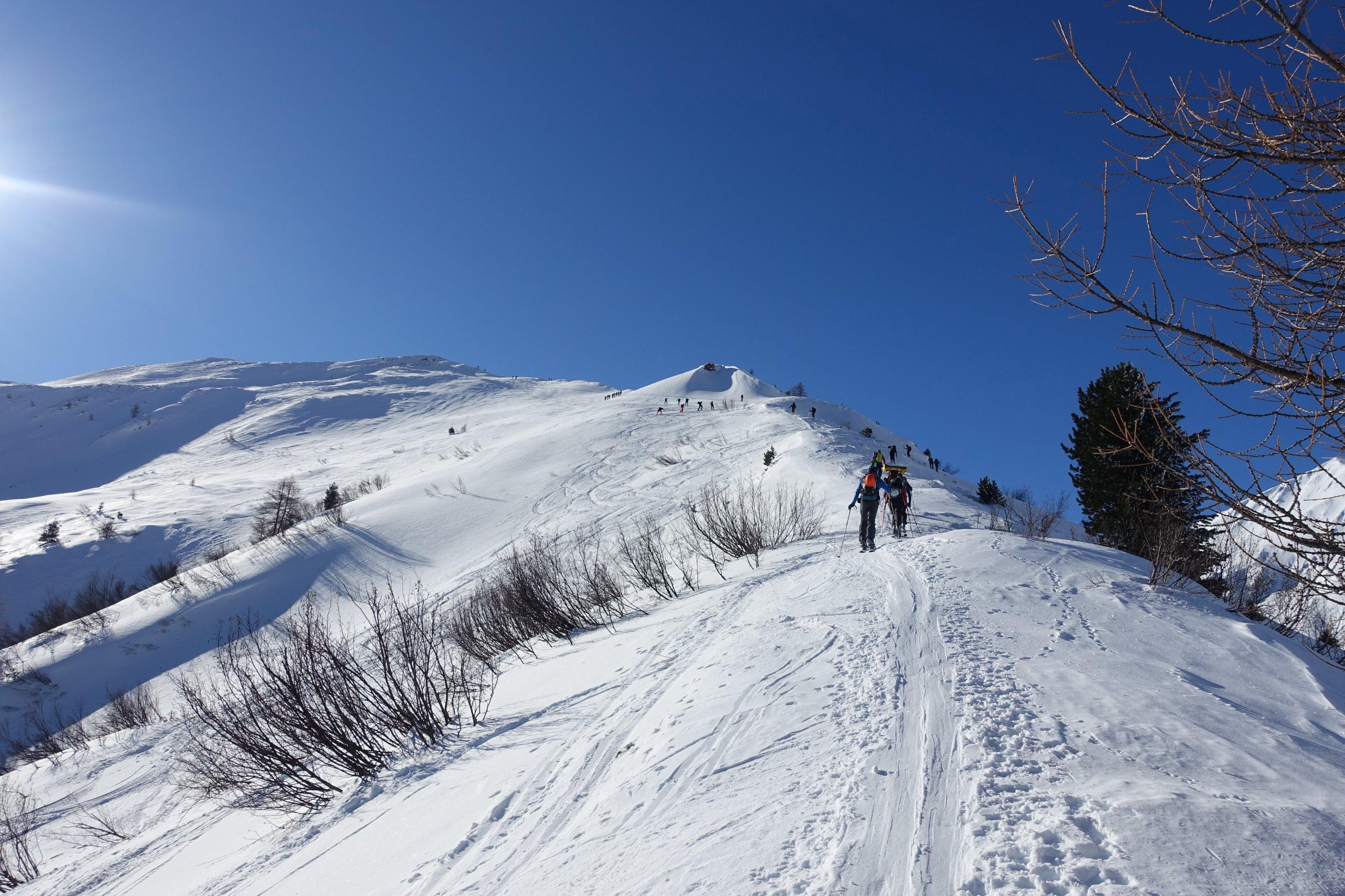 Wochenende! Alle gehen aufn Berg... (Foto: Lukas)
