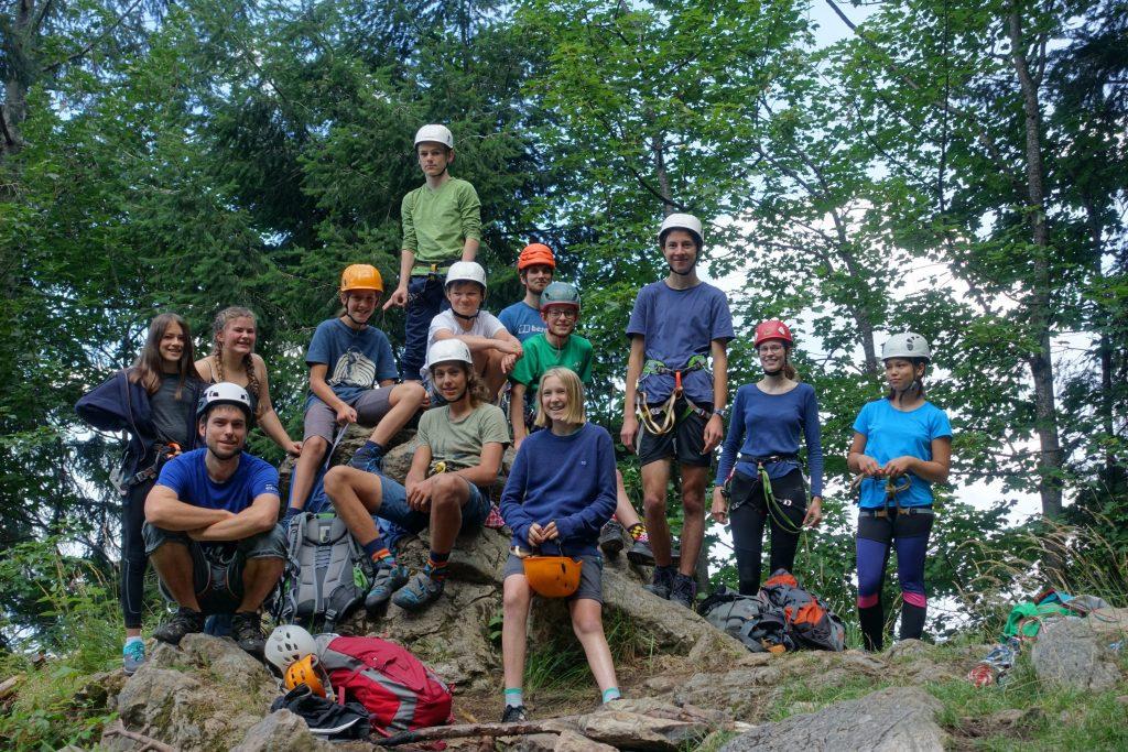 Felsgruppe - Gruppenfoto